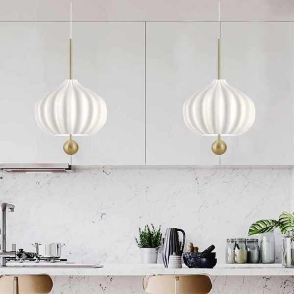 3932 - Glass Bell Pendant Lighting | RadiantHomeLighting