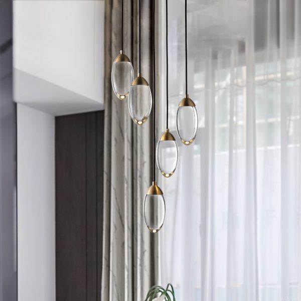 3935 ddkddy - Glass Acorn Pendant Lighting | RadiantHomeLighting