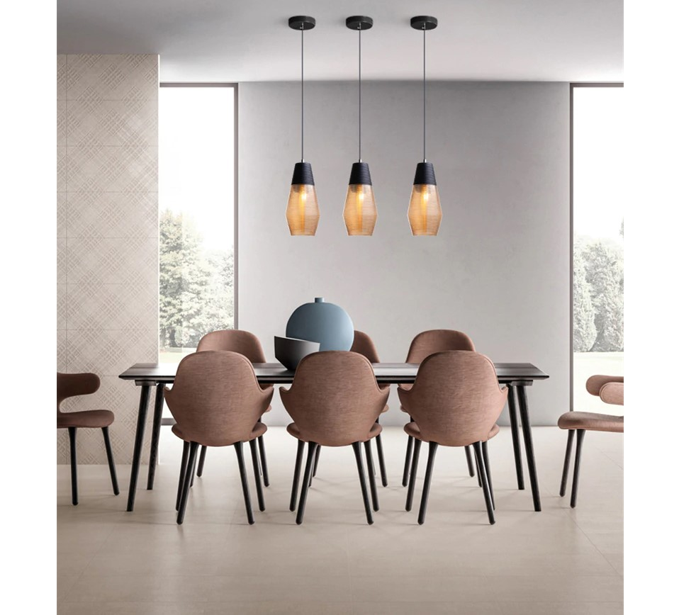 Black and Brown Design LED Pendant Lighting