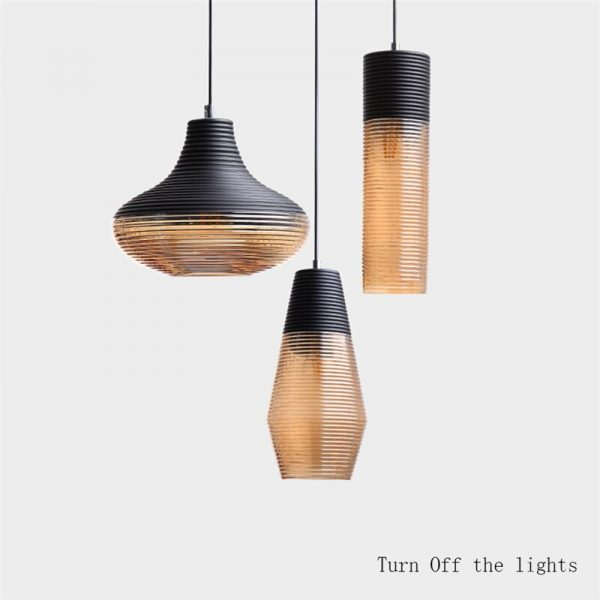 3938 vvwvd6 - Black and Brown Design LED Pendant Lighting | RadiantHomeLighting