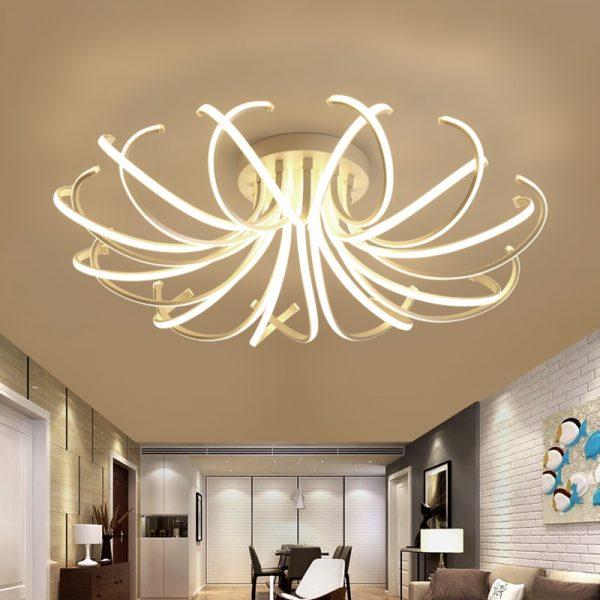 4432 jlndih - Curl LED Ceiling Lighting | RadiantHomeLighting