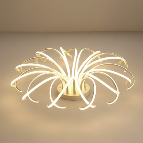 4432 ntzhya - Curl LED Ceiling Lighting | RadiantHomeLighting