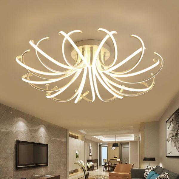 4432 - Curl LED Ceiling Lighting | RadiantHomeLighting