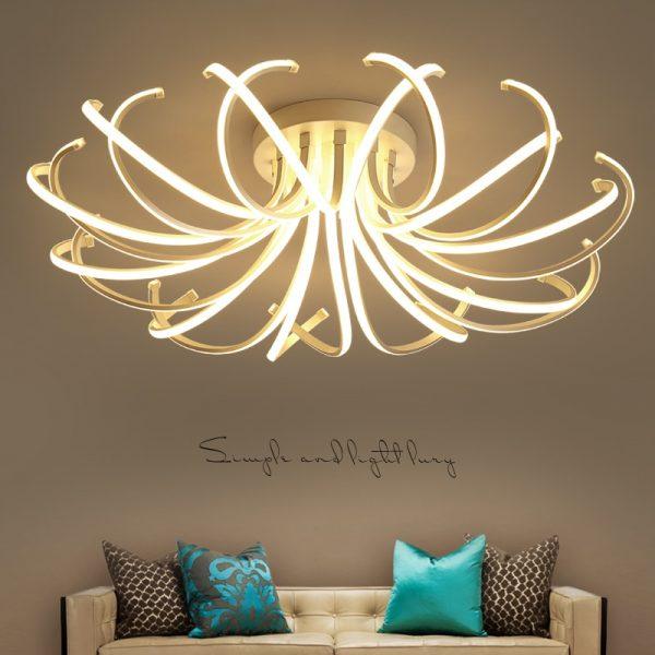 4432 r43dug - Curl LED Ceiling Lighting | RadiantHomeLighting