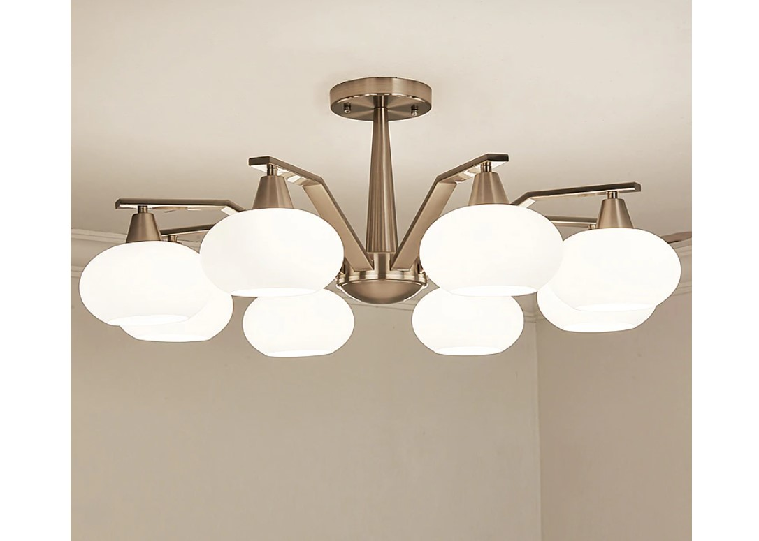 Modern Design Frosted Glass Chandelier Lighting