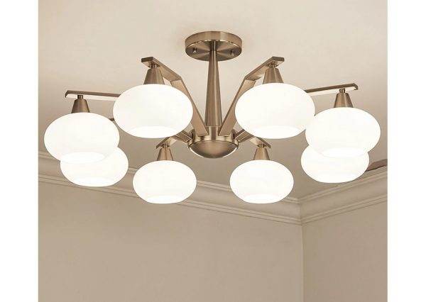 4494 z8fa31 - Modern Design Frosted Glass Chandelier Lighting | RadiantHomeLighting